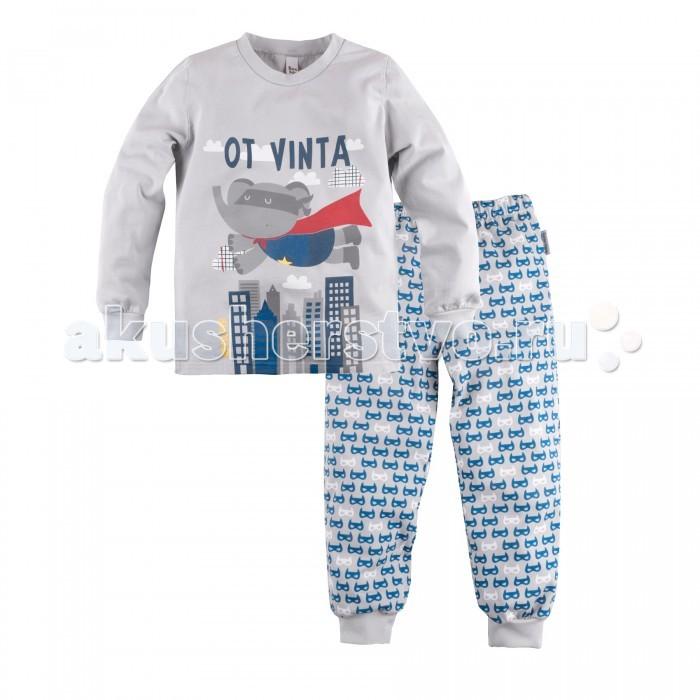Bossa Nova Пижама (джемпер и брюки) для мальчика Супергерои 353Б-161