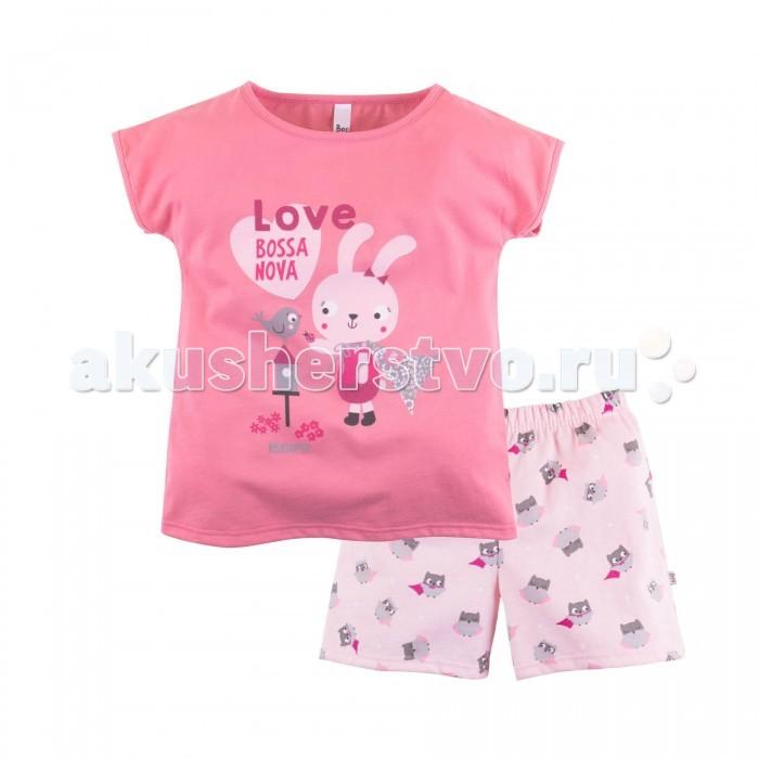 Bossa Nova Пижама (футболка и шорты) для девочки Супергерои 382Б-161