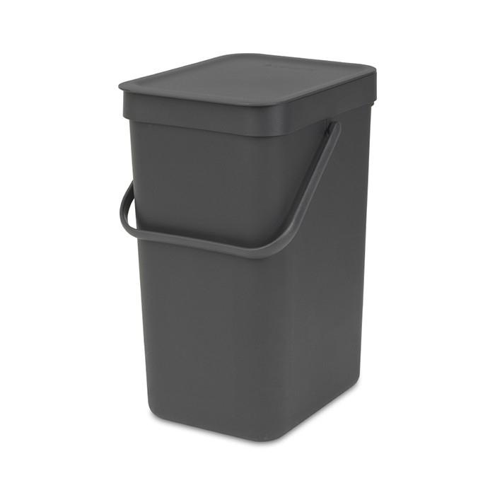 Хозяйственные товары Brabantia Ведро для мусора Sort&Go 12 л