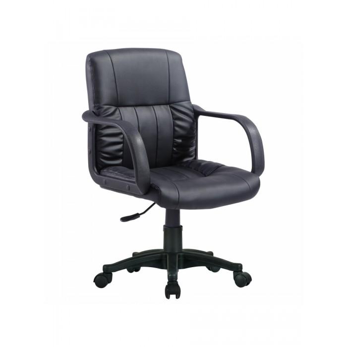 Фото - Кресла и стулья Brabix Кресло с подлокотниками Hit MG-300 кресло brabix stream mg 314 без подлокотников пятилучие серебристое экокожа бежевое 532078