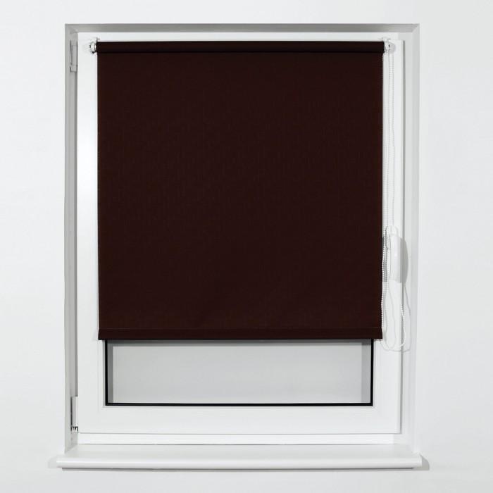 Фото - Шторы Brabix Штора рулонная 50х175 см штора рулонная плайн 50х175 см фисташковый