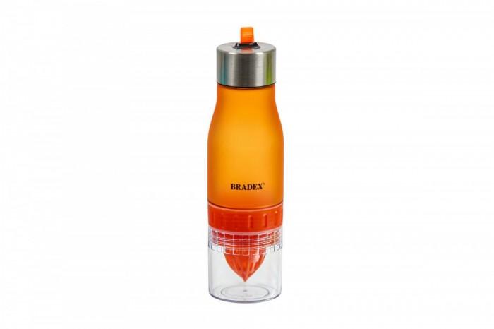 Bradex Бутылка для воды с соковыжималкой 0.6 л