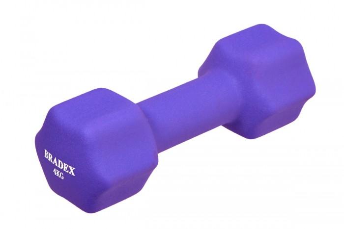 Купить Спортивный инвентарь, Bradex Гантель неопреновая 4 кг