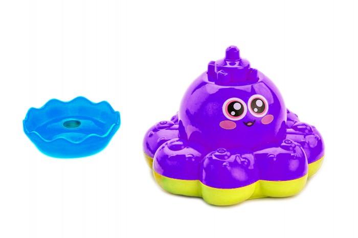 Игрушки для ванны Bradex Игрушка детская для ванны Фонтан-осьминожка игрушки для ванны умка игрушка для ванной осьминожка