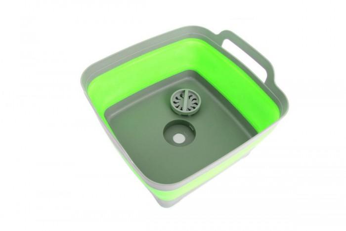 Купить Товары для дачи и сада, Bradex Корзина-раковина пластиковая складная с ручками 9 л
