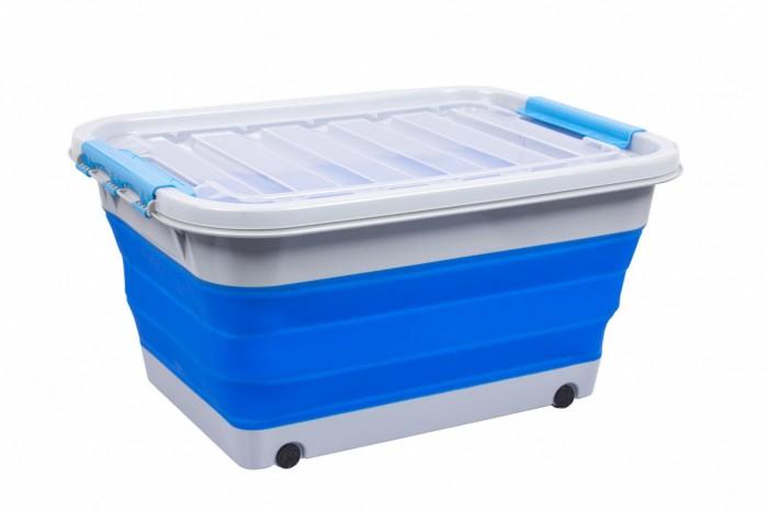 Купить Ящики для игрушек, Bradex Корзина складная на колесах с крышкой 30 л