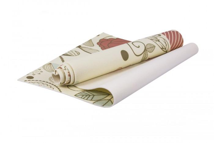 цена на Товары для йоги Bradex Коврик для йоги с рисунком Флауэр 173х61 см