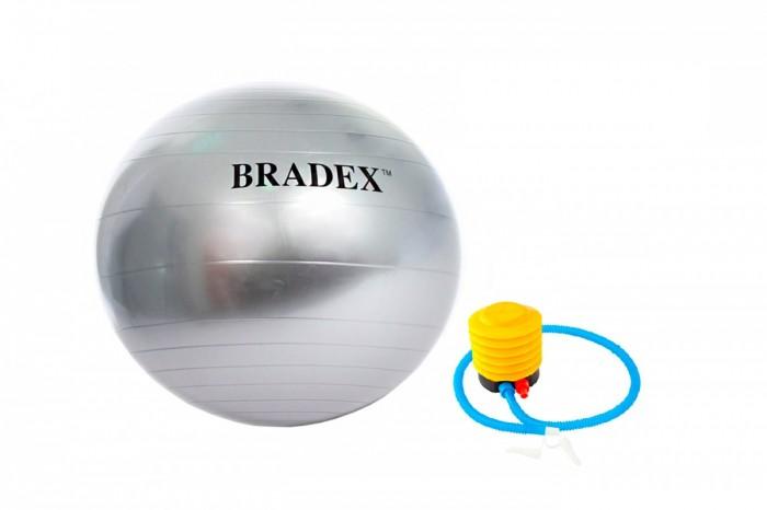 Bradex Мяч для фитнеса антивзрыв 75 см с насосом
