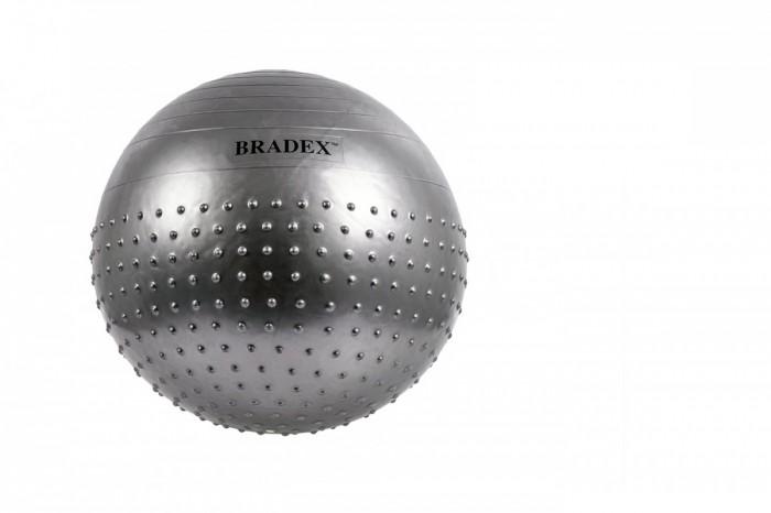 Bradex Мяч для фитнеса полумассажный Фитбол-65