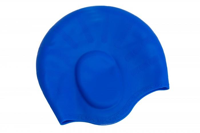 Аксессуары для плавания Bradex Шапочка для плавания силиконовая с выемками для ушей