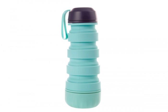 Бутылки для воды Bradex Силиконовая складная бутылка с отсеком для таблеток
