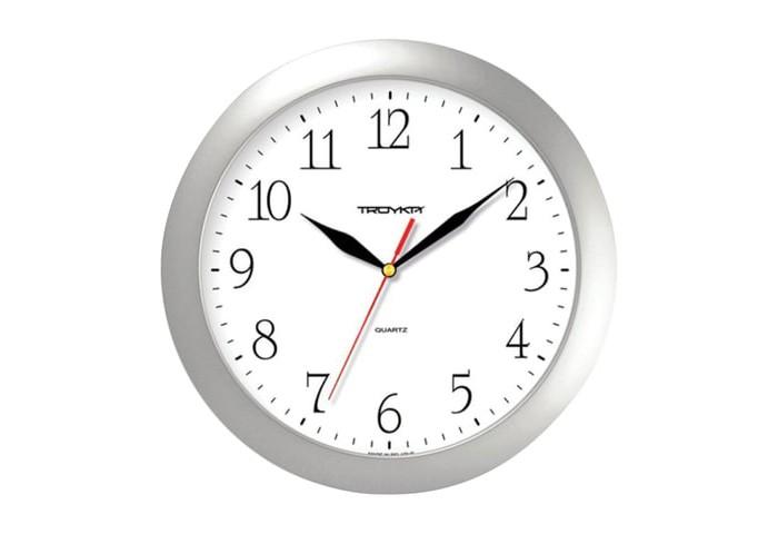 Часы Troyka настенные круглые 11170113 цена 2017