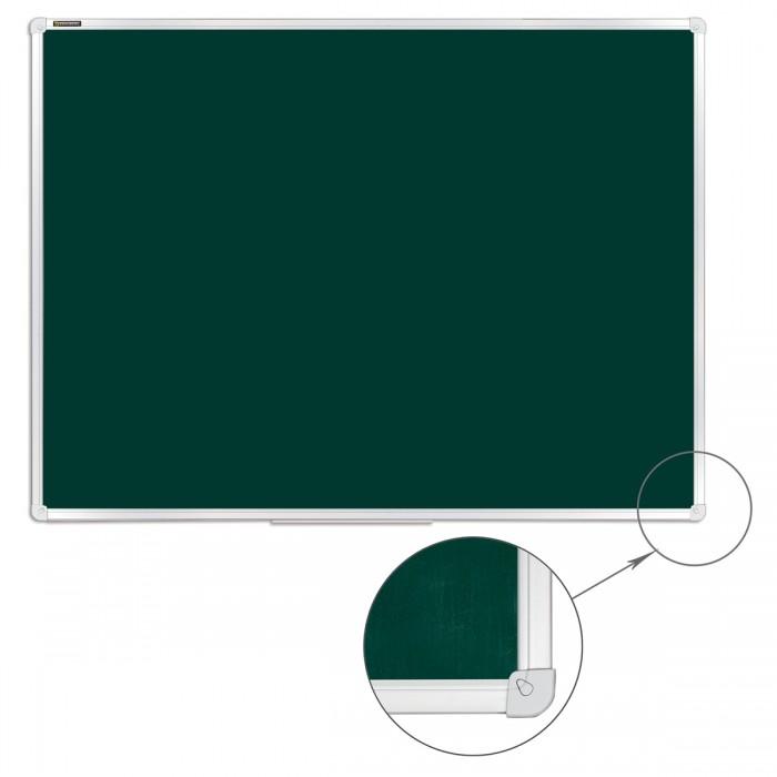 Развитие и школа , Доски и мольберты Brauberg Доска для мела магнитная 90х120 см арт: 528641 -  Доски и мольберты