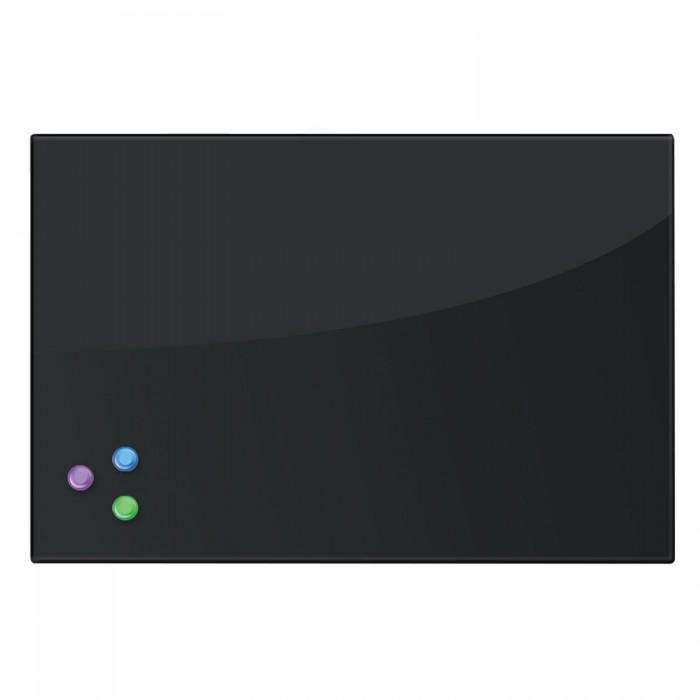 Brauberg Доска магнитно-маркерная стеклянная и 3 магнита 40х60 смДоски и мольберты<br>Brauberg Доска магнитно-маркерная стеклянная 3 магнита 40х60 см - это современная альтернатива обычным магнитно-маркерным доскам. Благодаря гладкой поверхности следы от маркера легко стираются и не оставляют пятен. Доска изготовлена из небьющегося закалённого стекла.   У такого варианта доски есть ряд преимуществ:  внешний вид  долговечность эргономичность функциональность  минималистичность Широкая палитра цветов дает пространство для фантазии и позволяет подобрать нужную комбинацию оттенков. Стеклянные доски прекрасно сочетаются между собой и подстраиваются практически под любой интерьер. Например, впечатляюще может выглядеть комбинация из ярких досок в комнате, где преобладают монохроматические цветовые решения.