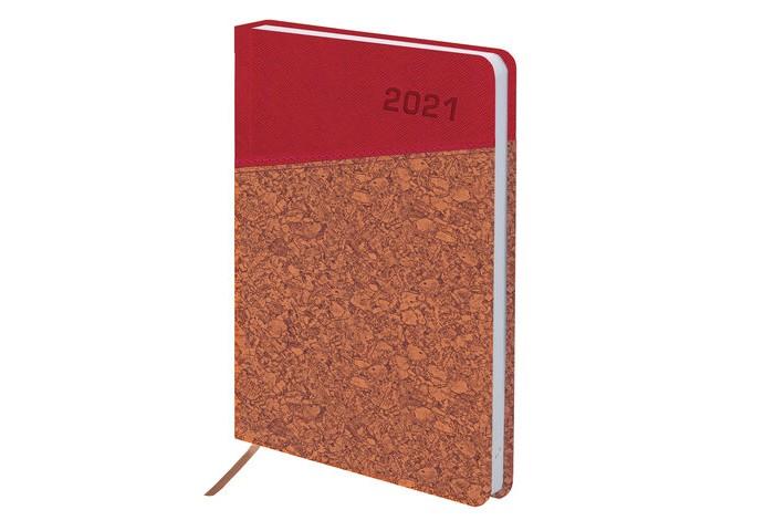 Канцелярия Brauberg Ежедневник датированный Rainbow Cork А5 168 листов