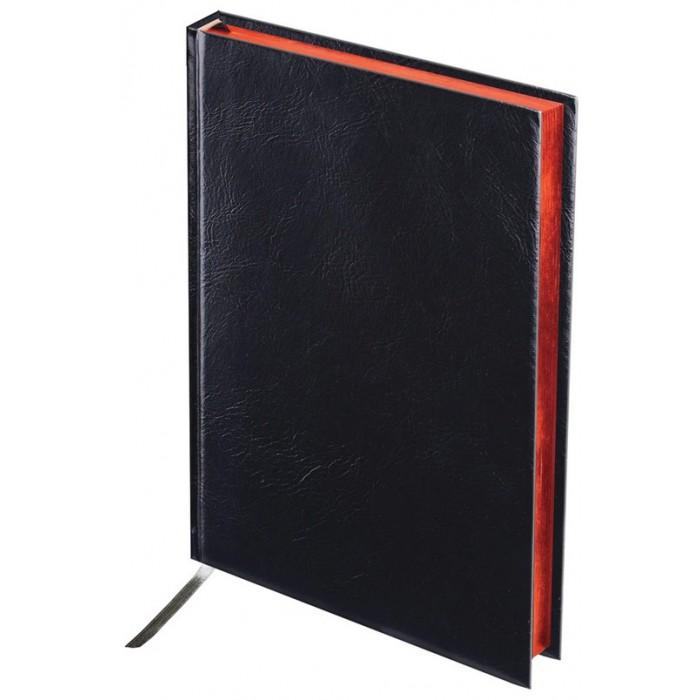 Картинка для Канцелярия Brauberg Ежедневник недатированный Black Jack А5 160 листов