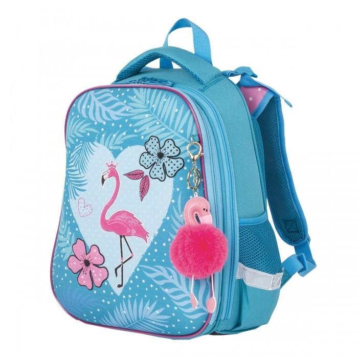 Купить Школьные рюкзаки, Brauberg Premium Ранец с брелком Flamingo