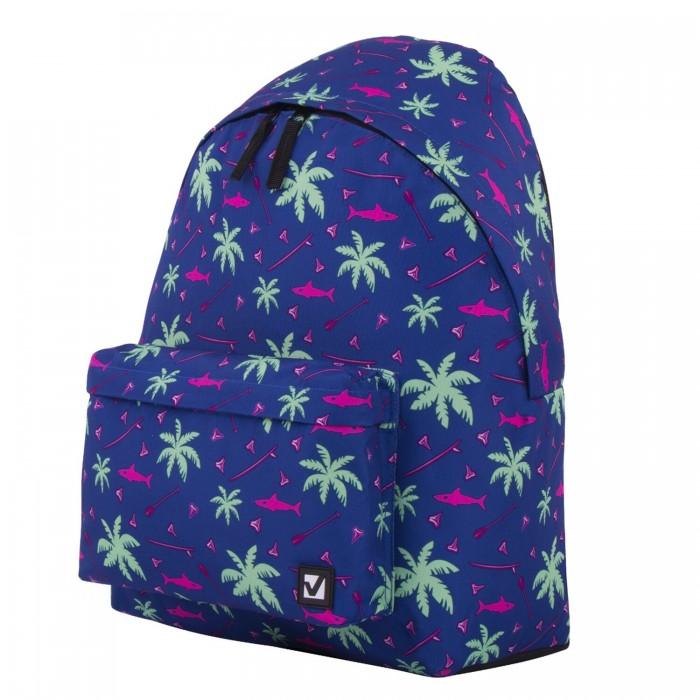 Школьные рюкзаки Brauberg Рюкзак универсальный сити-формат Пальмы