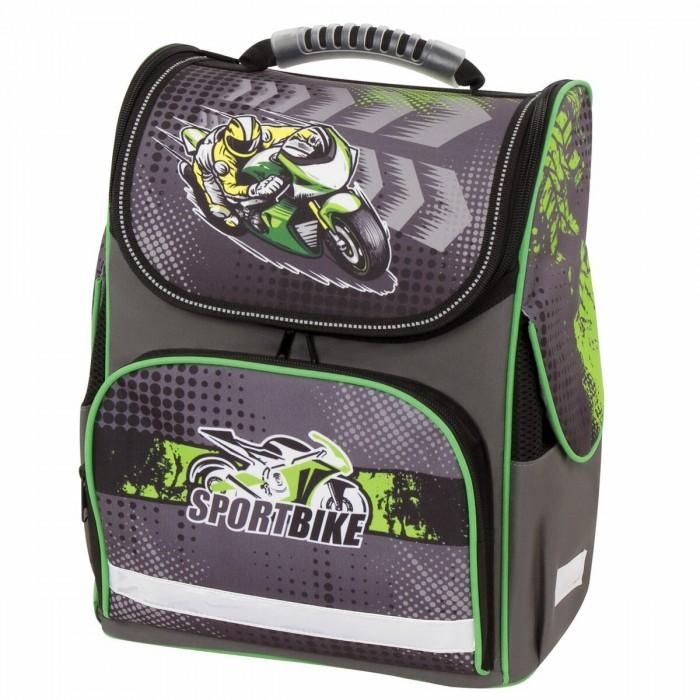 Купить Школьные рюкзаки, Brauberg Style Ранец c эргономичной спинкой Motorcycle