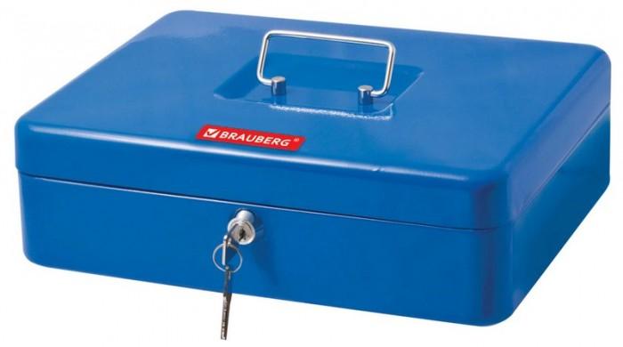 Сейфы Brauberg Ящик для ценностей 9 отделений 90х240х300 мм ящик для ценностей brauberg 90х240х300 мм ключевой замок серебристый 291060