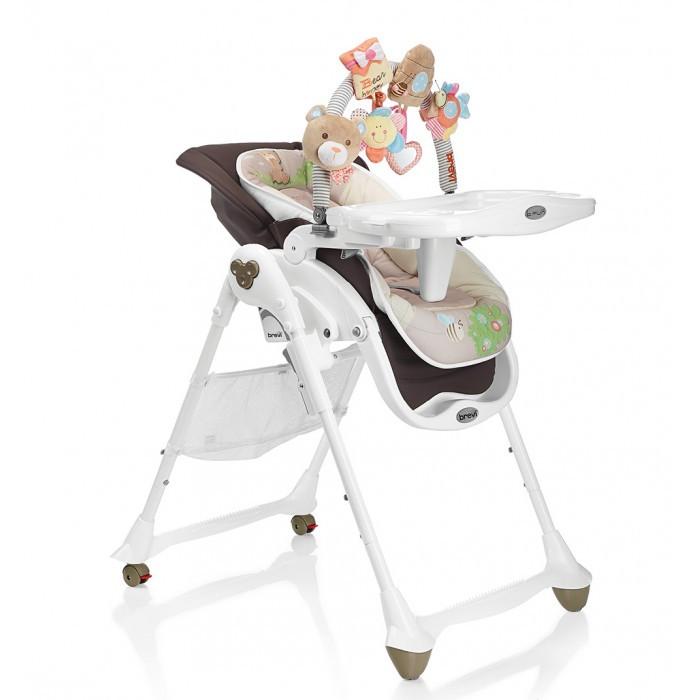 Стульчик для кормления Brevi B.FunB.FunСтульчик для кормления Brevi B.Fun  Brevi B Fun - это новый высокий детский стульчик 3 в 1, который превращается из шезлонга для новорожденных в многофункциональный высокий детский стульчик, чтобы сопровождать в росте ребёнка от 0 до 3 лет. B Fun Brevi предлагает всё то, что необходимо для кормления, сна и игры ребёнка: удобный детский шезлонг в 0-6 месяцев, многофункциональный высокий детский стульчик, используемый с 6 месяцев и стульчик для кормления, чтобы есть за столом вместе со взрослыми, начиная с 12 месяцев.  0 мес.+ Детский шезлонг анатомический Brevi B Fun в полностью опущенной позиции может принимать ребёнка даже с самого рождения до 9 кг, заключая и защищая его в мягкой и анатомической колыбельке из мягкой ткани с набивкой.   Идеальное раскладывание - Эксклюзив Brevi дорожит здоровьем детей. Поэтому, в конфигурации шезлонг Brevi B.Fun позволяет малышу принять полностью распростёртое положение, фундаментальное для первых месяцев жизни.   Уютная колыбель Для того, чтобы защищать новорожденного в мягком объятии, колыбелька Brevi B.Fun изготовлена из мягкой ткани, с защитными краями с набивкой. Может использоваться также, как двухсторонний уменьшитель размера во время первых кормлений.   Дуга с игрушками, полная сюрпризов Brevi оснастила детские шезлонги B.Fun планкой,богатой игрушками для новорожденных. Нежные мягкие игрушки занимают и помогают развитию зрения, тактильного чувства и координации движения рук малышей. Игрушки могут сниматься с дуги и использоваться в многочисленными способами: как браслеты, для украшения ручек бокса, кроваток и пр.  6 мес.+ Высокий детский стульчик Brevi B.Fun превращается в удобный высокий детский стульчик с уменьшителем размера, с использованием от 6 месяцев, для первых кормлений и для игры ребёнка. Высота сиденья регулируется, также как и позиция подноса и наклон спинки, а также подставка для ног.   Удобный поднос Двойной поднос с 2 гнёздами для стаканов, а также регулируемый в 3 пози