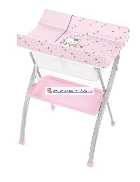 Детская мебель , Пеленальные столики Brevi Lindo Hello Kitty с ванночкой арт: 15714 -  Пеленальные столики