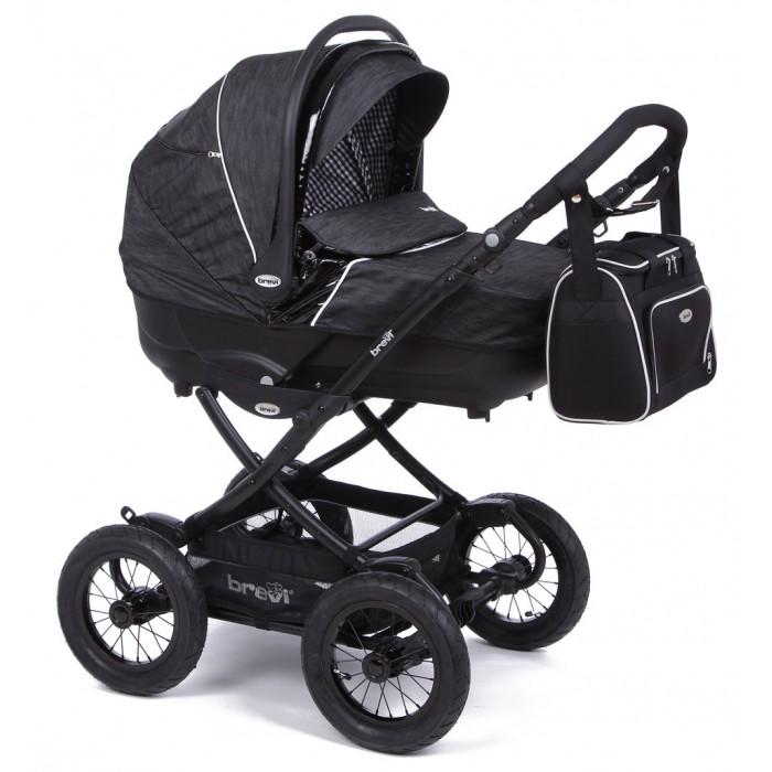 Коляска-люлька Brevi RiderRiderКоляска детская для новорожденных Brevi Rider прекрасная коляска для новорожденного от итальянского производителя на классическом шасси. Придуманная специально для суровых российских зим.  Благодаря большим надувным колесам идет мягко и плавно , а так же станет вашим незаменимым в прогулкам по плохим дорогам.   Глубокая и просторная люлька подарит вашему малышу комфорт и уют , а так же расположение высоко от земли защитит вашего ребенка от попадания грязи и пыли.   Для удобства подголовник регулируется с внешней стороны люльки, Вам не придется тревожить малыша.  Особенности: Жесткий противоударный каркас делает ее пригодной для использования в автомобиле; Съемная обивка, которая легко стирается Большая корзина для покупок  Теплая накидка Ручка для переноски  Регулируемый с внешней стороны подголовник  Съемный козырек от солнца  Надувные колеса диаметром 30 см  Вентиляционное окошко в козырьке  Родительская ручка регулируемая по высоте   Характеристики :   Диаметр колес: 30,5 см  Тип колес: резиновые надувные Вес: 16 кг, Размеры (Д/Ш/В): 99х61х120 см Размеры в собранном виде (Д/Ш/В): 92х61х58 см Возможность установки на шасси: люлька, прогулочный блок, автокресло Поворотные передние колеса: нет Комплектация: сумка для мамы Регулировка высоты ручки: есть Ширина колесной базы: 61 см Сдвоенные колеса: одинарные<br>