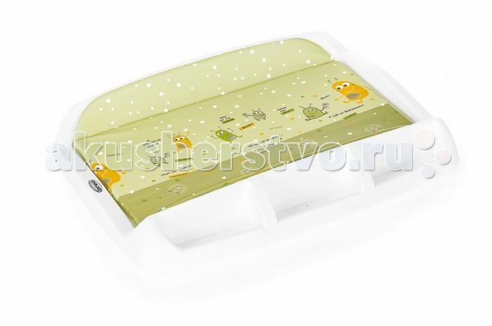 Накладки для пеленания Brevi Накладка для пеленания Tablet накладки для пеленания kipkep пеленальный коврик napper 63x35