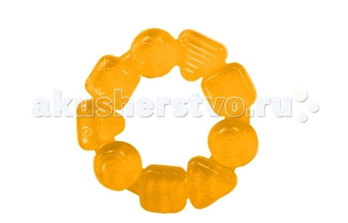 Прорезыватели Bright Starts Карамельный круг прорезыватель bright starts динозаврик желтый 52029 2