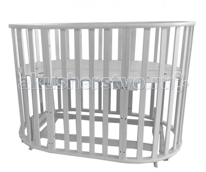 Детская мебель , Кроватки-трансформеры Briciola 5 в 1 маятник поперечный арт: 435234 -  Кроватки-трансформеры