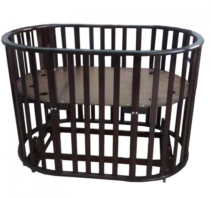 Кроватки-трансформеры Briciola 5 в 1 маятник поперечный кроватка трансформер valle mimi 6 в 1 маятник поперечный венге va9319