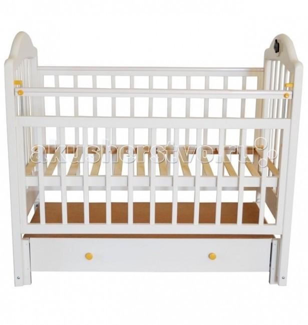 Детская кроватка Briciola - 10 маятник продольный фото