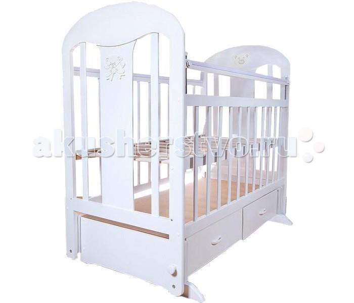 Детская кроватка Briciola - 5 маятник поперечный