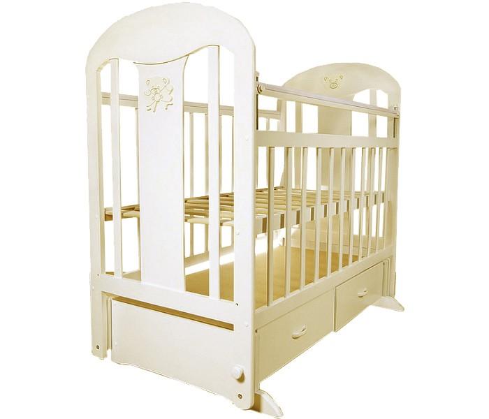 Детская кроватка Briciola - 5 маятник поперечный- 5 маятник поперечныйДетская кроватка Briciola - маятник поперечный  – это изумительное сочетание стиля, удобства и качества. При этом цена на продукцию отечественного бренда приятно радует бюджет экономных родителей. При этом мебель Briciola может конкурировать с более дорогими аналогами и по ряду параметрам им не только не уступает, но и превосходит.  Особенности: Внутренние габариты, см: длина – 120,0, ширина – 60,0. Наружные габариты, см: длина – 127,0, ширина – 67,0. Мебель производится из натуральной и экологичной древесины, для окрашивания которой использованы только безопасные лаки и краски на водной основе Дизайн Briciola-5 выдержан в современном стиле, смотрится очень мило и уместно, особый шик придает декор на торцевых панелях Ортопедическое ложе на ламелях регулируется по высоте Briciola-5 имеет переднюю автостенку, которая гарантирует комфортный и простой доступ к малышу родителям совершенно разного роста Детская кроватка имеет реечные панели, которые обеспечивают надлежащую вентиляцию спального места Конструкция лишена неоправданных острых углов Briciola-5 имеет 2 больших выдвижных ящика, которые расположены у основания. Надежные направляющие и удобные ручки позволяют сделать использование ящиков еще более комфортным<br>