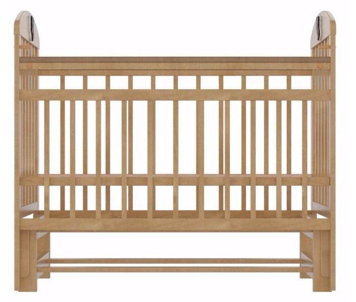 Детская кроватка Briciola - 9 маятник продольный- 9 маятник продольныйДетская кроватка Briciola-9 маятник продольный – это современный дизайн, спокойная и мягкая расцветка, высокая функциональность, отменное качество изготовления, благодаря всем вышеперечисленным характеристикам модуль успешно впишется в любой интерьер помещения.  Особенности: Размеры ложа: 120х60 см Изделие выполнено из натуральных, гипоаллергенных и экологически чистых материалов, а именно массива березы Уровень ложа регулируется в двух положениях – для удобства доступа к малышу Боковая стенка легко снимается, таким образом, кроватка легко трансформируется в маленький диванчик Боковая планка регулируется по высоте при помощи специального бокового устройства Имеются специальные накладки ПВХ Раскачивание кроватки осуществляется продольным маятником; также предусмотрен специальный фиксатор, который блокирует раскачивание Бортики сделаны из ламелей, расстояние между которыми продумано с тем учетом, чтобы в них не застревали конечности малыша Полное отсутствие острых углов и выпуклых частей – риски получения травмы малышом сведены к нулю Детская кроватка Briciola-9 отличается простотой изготовления и удобством эксплуатации  Материал: массив березы. Размер спального места: 120х60 см. Размер кроватки: 67х113х123 см. Размер упаковки: 80х17х124 см.<br>
