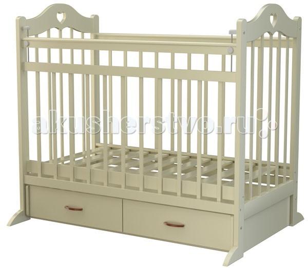 Детская кроватка Briciola 12 маятник поперечный