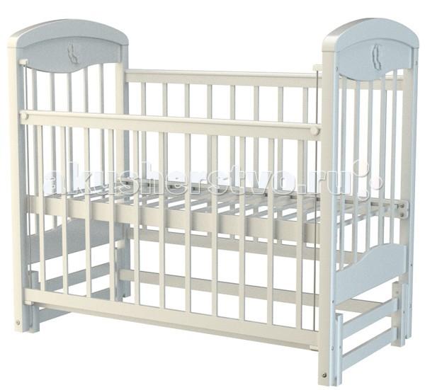 Детская кроватка Briciola - 2 маятник продольный