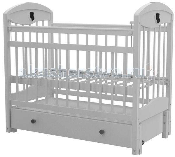 Детская кроватка Briciola - 3 автостенка маятник продольный