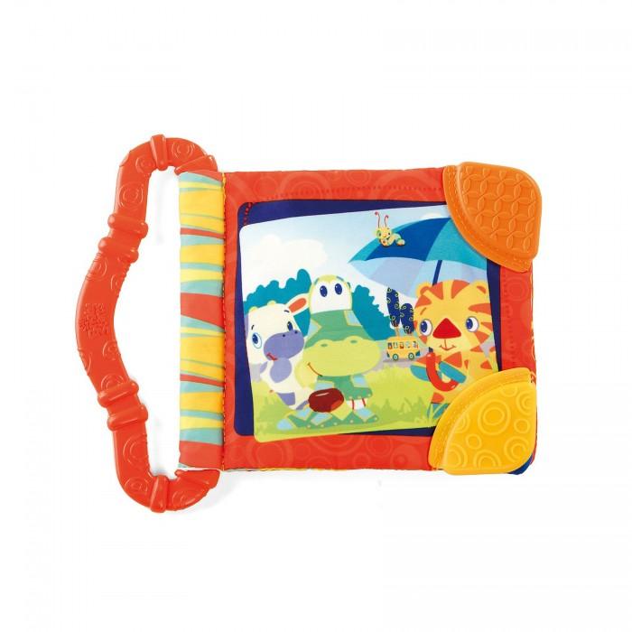 Книжки-игрушки Bright Starts Игрушка-книжка Веселые зверюшки развивающая игрушка книжка азбукварик два веселых гуся 64393