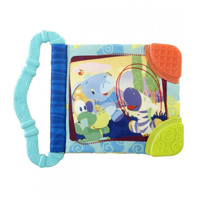 Книжки-игрушки Bright Starts Игрушка-книжка Веселые зверюшки развивающая игрушка книжка bright starts веселое сафари pl033012r2