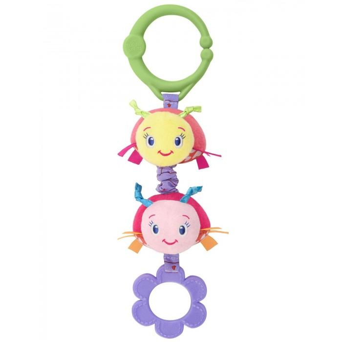 Подвесные игрушки Bright Starts Дрожащий дружок Божьи коровки/Жираф 52073 подвесные игрушки мир детства мини подвеска слоненок