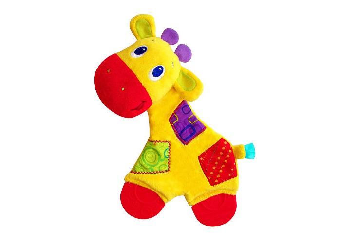 Мягкие игрушки Bright Starts Самый мягкий друг с прорезывателями развивающие игрушки bright starts игривый щенок