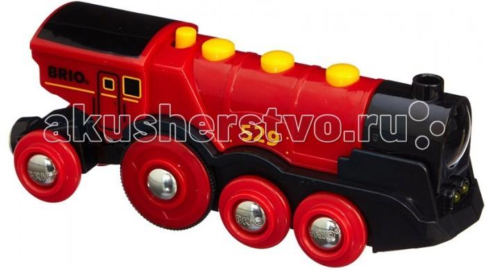 Железные дороги Brio Локомотив 33592, Железные дороги - артикул:157643