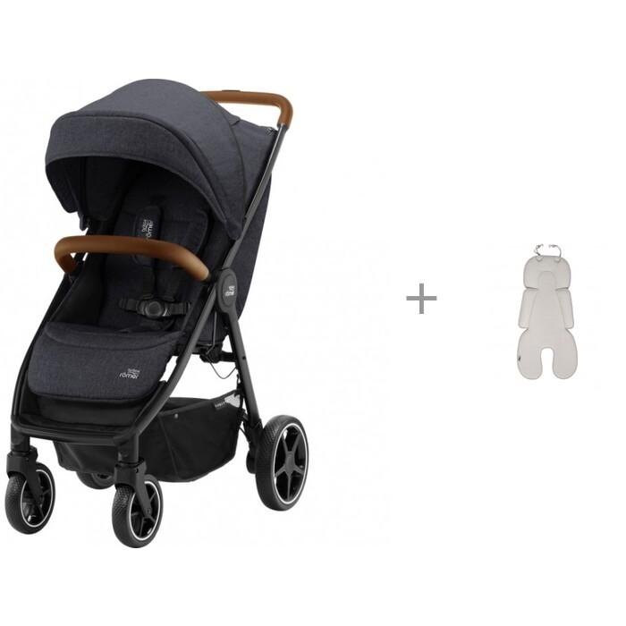 Картинка для Прогулочные коляски Britax Roemer B-Agile R и Дышащий 3D матрасик Leokid Newborn Cotton