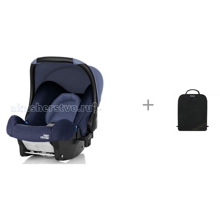 Картинка для Группа 0-0+ (от 0 до 13 кг) Britax Roemer Baby-Safe, подушка-вкладыш Барлео и защитный коврик Munchkin Brica