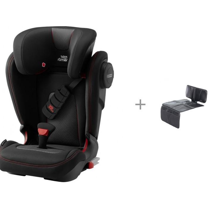 Автокресло Britax Roemer KidFix III S Cool Flow и Универсальный чехол для сиденья фото