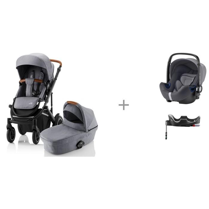 Коляска Britax Roemer Smile III 2 в 1 с автокреслом и базой Baby-Safe2 i-size