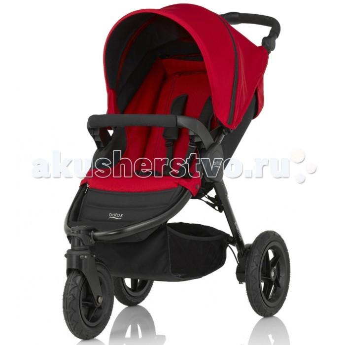 Прогулочная коляска Britax B-Motion 3B-Motion 3Прогулочная коляска Britax B-Motion 3 с регулируемой ручкой и прорезиненными колесами. Механизм складывания коляски одним движением максимально упростит вам жизнь. Облегченное алюминиевое шасси делает эту коляску одной из самых легких в своем классе.   Полный вес составляет всего 11 кг.   Детская коляска предназначена для детей с рождения и до 3 лет (примерно до 15 кг).   Особенности: предназначена для детей c 6 месяцев до 3-х лет, лет весом до 15 кг горизонтальное положение спинки позволяет использовать её и с более раннего возраста наклон спинки регулируется в нескольких положениях, включая полностью горизонтальное съемный капюшон с вместительным карманом имеет большую сетчатую вставку для эффективной вентиляции в жаркую погоду прогулочный блок изготовлен из влагонепроницаемых, дышащих и гипоаллергенных тканей, элементы которого легко снимаются и подвергаются стирке при 30 градусах удобное сиденье эргономичной формы надежные и комфортные пятиточечные ремни безопасности оснащены мягкими накладками, имеют легкую регулировку натяжения уникальная система складывания позволяет движением одной руки легко и быстро складывать коляску по принципу «книжка» прочная рама коляски изготовлена из облегченного алюминия удобная ручка с мягкой накладкой имеет эргономичную форму надежный ножной тормоз педального типа на задних колесах есть амортизация колеса коляски надувные коляска легко складывается и фиксируется в сложенном виде для комфортной переноски коляски есть удобная ручка  на шасси есть вместительная корзина, в которую можно положить все необходимое имеются съемные адаптеры CLICK& GO, которые позволяют при необходимости устанавливать на шасси коляски автолюльку Baby Safe Sleeper или же автокресло Baby Safe plus колеса резиновые с прочными долговечными покрышками, при необходимости быстро снимаются и обеспечивают значительную компактность при складывании и хранении передние поворотные колеса оборудованы фиксаторами.  В комплек