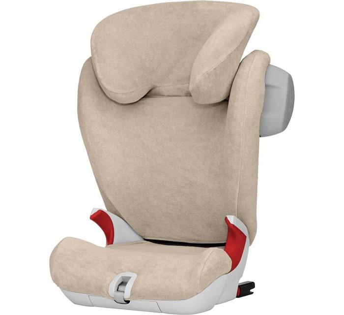 Britax Roemer Летний чехол для автокресла Kidfix SLАксессуары для автокресел<br>Britax Roemer Летний чехол для автокресла Kidfix SL поможет сделать прогулку в жаркие дни приятной и комфортной для вашего малыша.   Летний чехол легко надевается на автокресло поверх обычного чехла. Можно стирать в стиральной машине при температуре 30 °C.  Махровый чехол, изготовленный из 80% хлопка и 20% полиэстера.  Необыкновенно мягкий и комфортный.  Чехол прекрасно поглощает влагу. Идеален для использования в жаркую погоду.  Соответствует международному стандарту безопасности текстильной продукции OEKO-TEX® Standard 100.