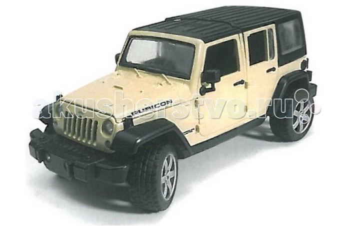 Машины Bruder Внедорожник Jeep Wrangler Unlimited Rubicon bruder внедорожник jeep wrangler unlimited rubicon c прицепом платформой и колёсным мини погрузчиком cat 02 925